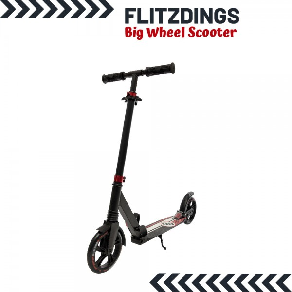 Outzone Flitzdings Big Wheel Scooter Rot